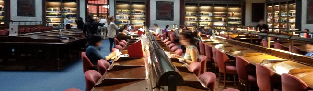Práctica de los alumnos del TAI en la Biblioteca Nacional de España