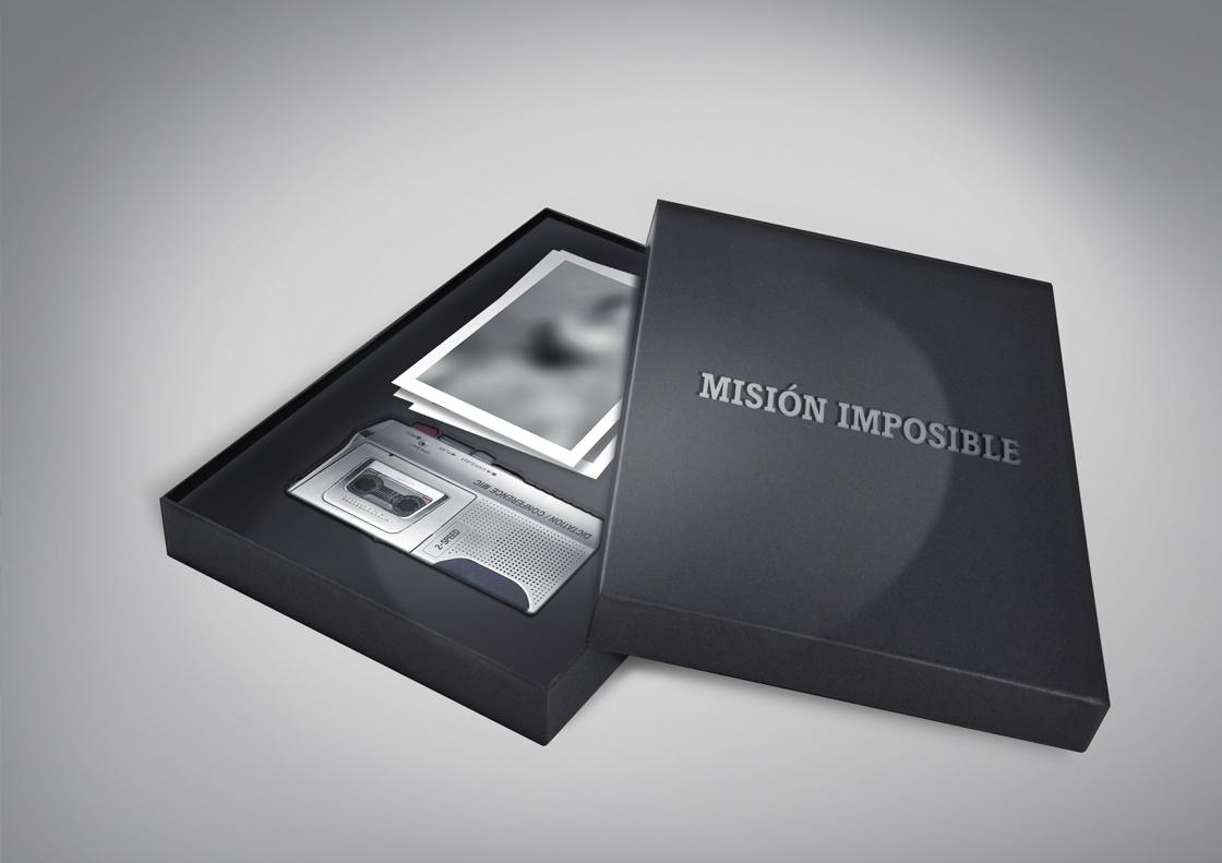 TNT Campaña Marketing Directo Misión Imposible