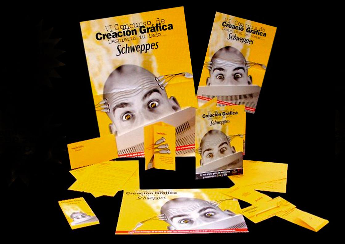 VI Concurso Creación Gráfica Schweppes